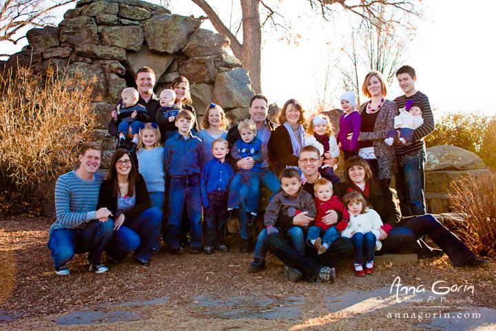 The Ross Family   portraits photoshoots photography Family Photography Family Extended Family Photos couples children boise train depot    Anna Gorin Design & Photography, Boise, Idaho