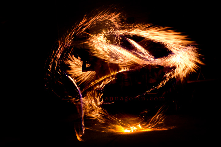 Fire Dancing At Unmata S Blood Moon Regale Part I
