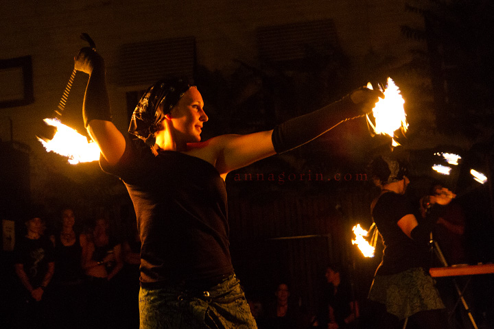 Fire Dancing At Unmata S Blood Moon Regale Part I