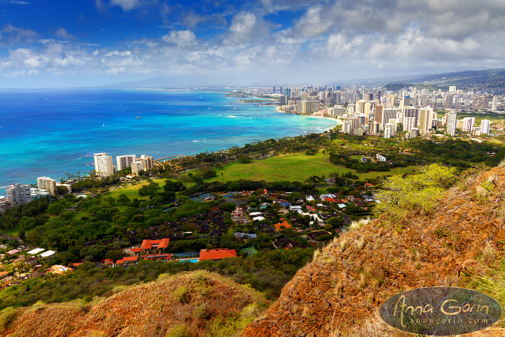 Hawaii: Hike to Diamond Head