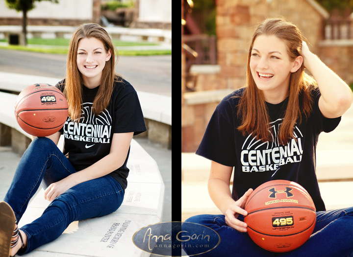 Seniors: Grace | sports senior portraits senior photos outdoor portraits female portraits downtown boise boise senior photos boise greenbelt basketball anne frank memorial  | Anna Gorin Design & Photography, Boise, Idaho