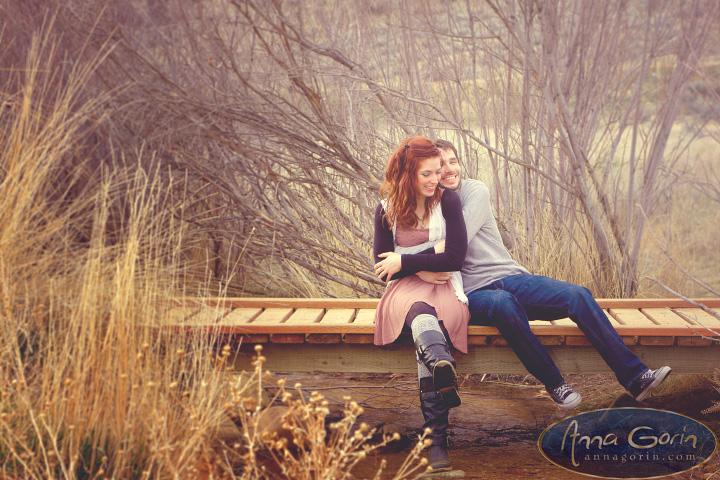 Engagements: Kelsey & Micha | romance portraits love idaho Engagements Engagement Photos couples camels back park Boise Engagement Photos boise  | Anna Gorin Design & Photography, Boise, Idaho