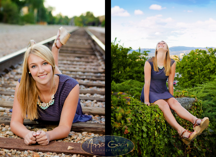 Seniors: Hayley | train depot seniors 2014 seniors Senior Portraits Senior Portrait Senior Pictures Boise Senior Photos portraits photoshoots outdoor portraits kathryn albertson park female portraits boise train depot Boise Senior Photos Boise Senior Photography boise depot  | Anna Gorin Design & Photography, Boise, Idaho