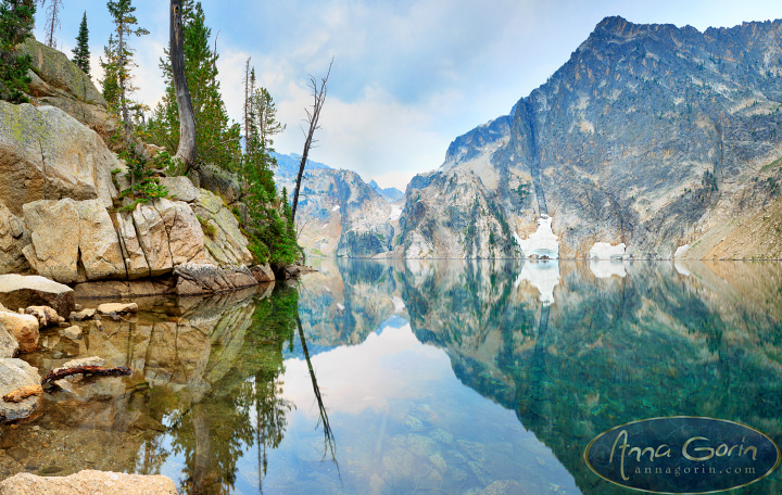 Sawtooth beauty: Goat Lake | trails stanley smoky sawtooth mountains nature mountains landscapes lakes idaho hiking hikes goat lake fire season  | Anna Gorin Design & Photography, Boise, Idaho