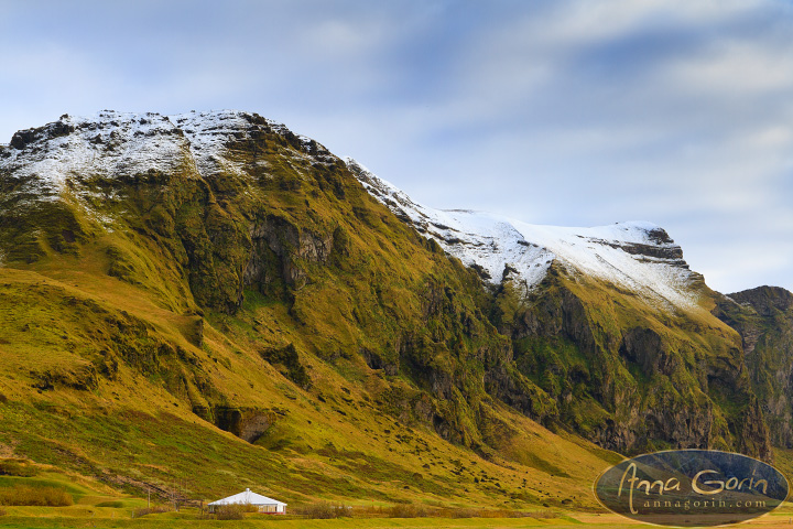 Iceland: Vik | vik travel southern iceland snow photography panorama mountains landscapes iceland church  | Anna Gorin Design & Photography, Boise, Idaho