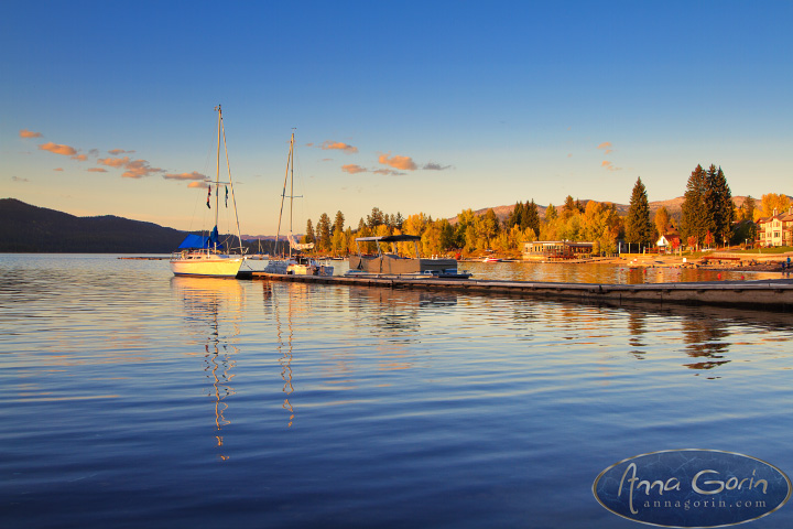 Autumn in McCall and Cascade | travel sunset ponderosa state park photography payette lake nature mccall landscapes lake cascade idaho foliage fall cascade blue hour autumn  | Anna Gorin Design & Photography, Boise, Idaho