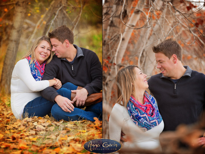 Engagements: Aubrey & Justin | veterans memorial park romance portraits love idaho fall Engagements Engagement Photos Engagement Photography couples Boise Engagement Photos Boise Engagement Photography autumn  | Anna Gorin Design & Photography, Boise, Idaho