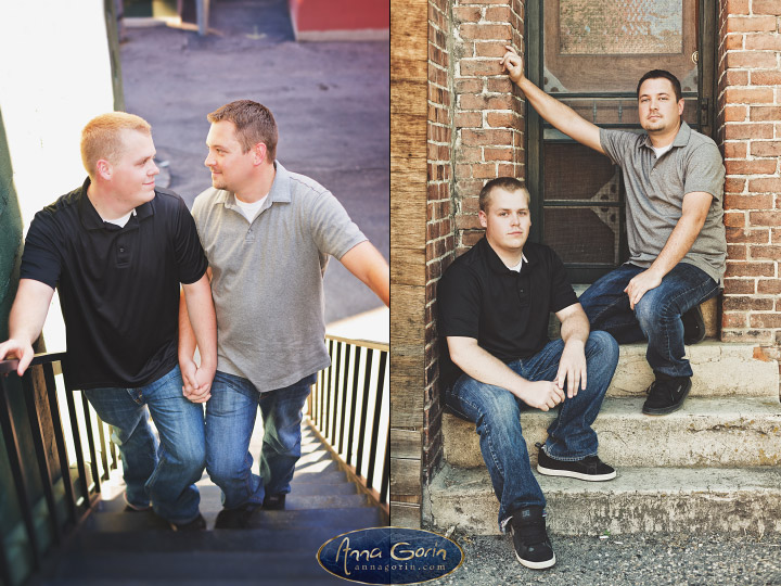 Couples: Tyler & Nick | romance portraits love idaho Engagements Engagement Photos Engagement Photography downtown boise couples Boise Engagement Photos Boise Engagement Photography  | Anna Gorin Design & Photography, Boise, Idaho
