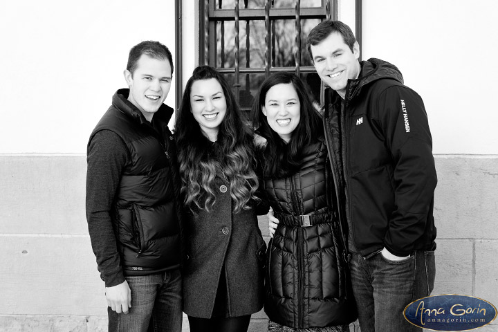 The Murrell family | winter portrait photoshoots photography outdoor portraits Family Photos Family Photographer Boise Family Photographer families boise train depot Boise Family Photos Boise Family Photography Boise Family Photographer boise depot  | Anna Gorin Design & Photography, Boise, Idaho
