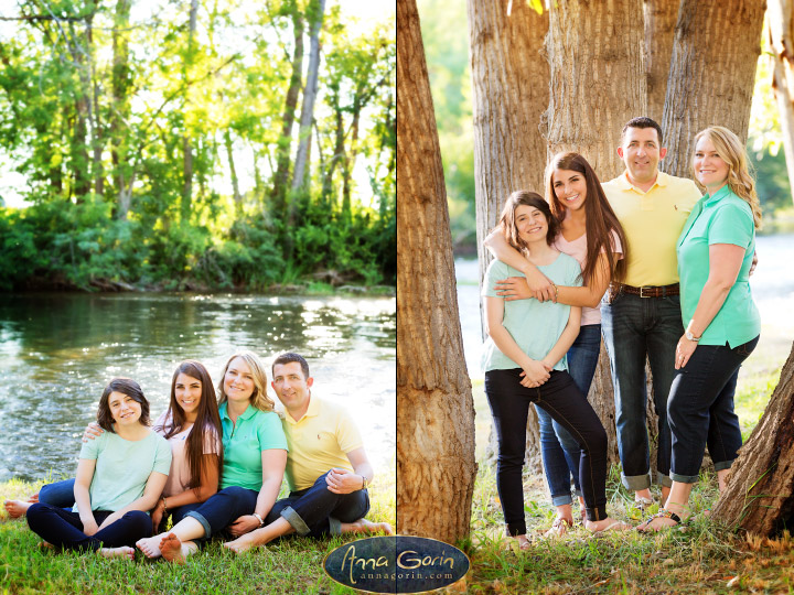 The Pelkoski family | summer portrait photoshoots photography outdoor portraits Family Photos Family Photographer Boise Family Photographer families eagle boise river Boise Family Photos Boise Family Photography Boise Family Photographer  | Anna Gorin Design & Photography, Boise, Idaho