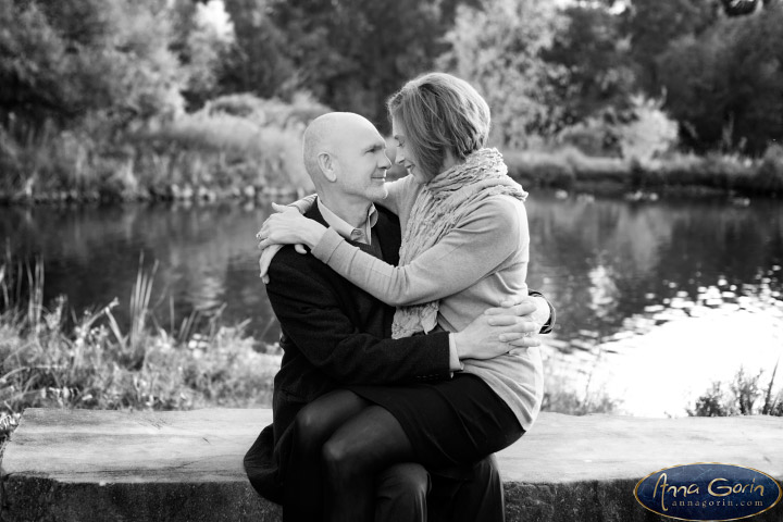 Couples: Greg & Diane | romance portraits love kathryn albertson park idaho fall Engagements Engagement Photos Engagement Photography couples Boise Engagement Photos Boise Engagement Photography autumn anniversary photos  | Anna Gorin Design & Photography, Boise, Idaho