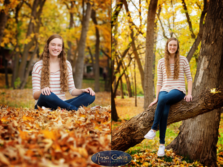 Seniors: Sarah | seniors 2017 seniors Senior Portraits Boise Senior Portraits Senior Portrait Senior Pictures Boise Senior Photos portraits photoshoots outdoor portraits female portraits eagle Boise Senior Pictures Boise Senior Photos Boise Senior Photography Boise Senior Photographer boise river autumn  | Anna Gorin Design & Photography, Boise, Idaho