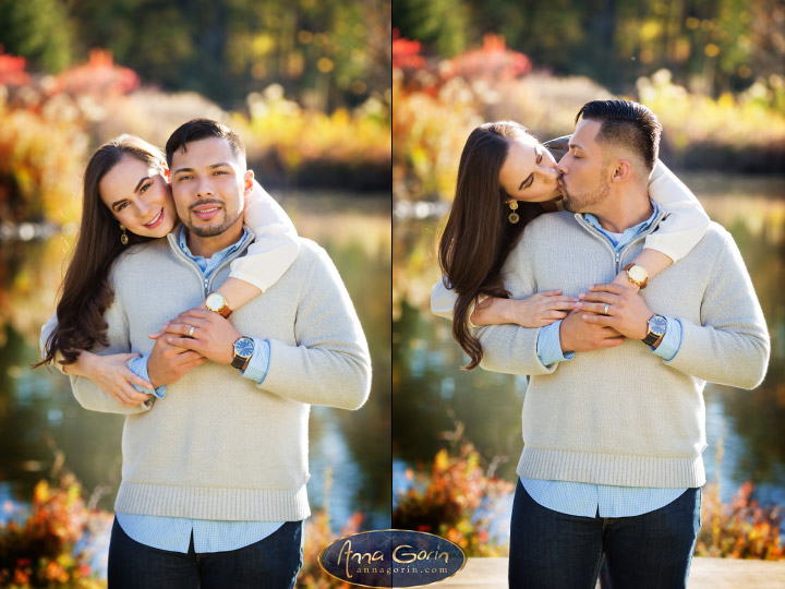 Couples: Korina & Alex | romance portraits love kathryn albertson park idaho fall Engagements Engagement Photos Engagement Photography couples Boise Engagement Photos Boise Engagement Photography autumn  | Anna Gorin Design & Photography, Boise, Idaho