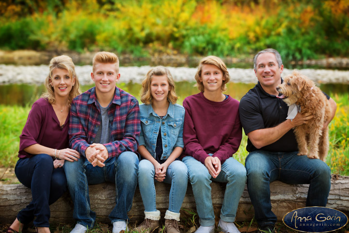 The Pewe family | portrait photoshoots photography outdoor portraits Family Photos Family Photographer Boise Family Photographer families fall eagle boise river Boise Family Photos Boise Family Photography Boise Family Photographer autumn  | Anna Gorin Design & Photography, Boise, Idaho