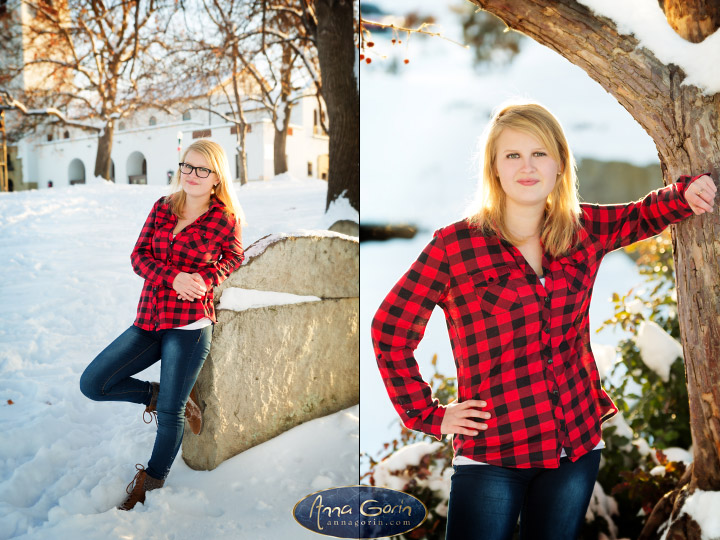 Seniors: Audree | winter snow seniors 2017 seniors Senior Portraits Boise Senior Portraits Senior Portrait Senior Pictures Boise Senior Photos portraits photoshoots outdoor portraits female portraits boise train depot Boise Senior Pictures Boise Senior Photos Boise Senior Photography Boise Senior Photographer boise depot  | Anna Gorin Design & Photography, Boise, Idaho