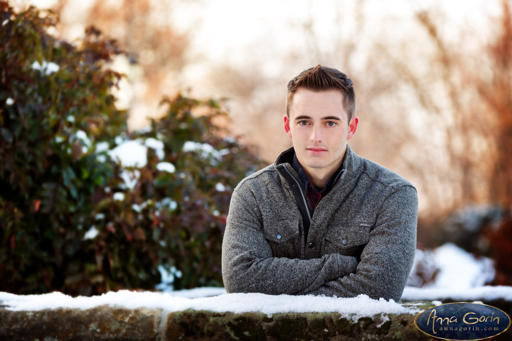 Seniors: Ryan | winter snow seniors 2017 seniors Senior Portraits Boise Senior Portraits Senior Portrait Senior Pictures Boise Senior Photos portraits photoshoots outdoor portraits male senior portrait male portrait boise train depot Boise Senior Pictures Boise Senior Photos Boise Senior Photography Boise Senior Photographer boise depot  | Anna Gorin Design & Photography, Boise, Idaho