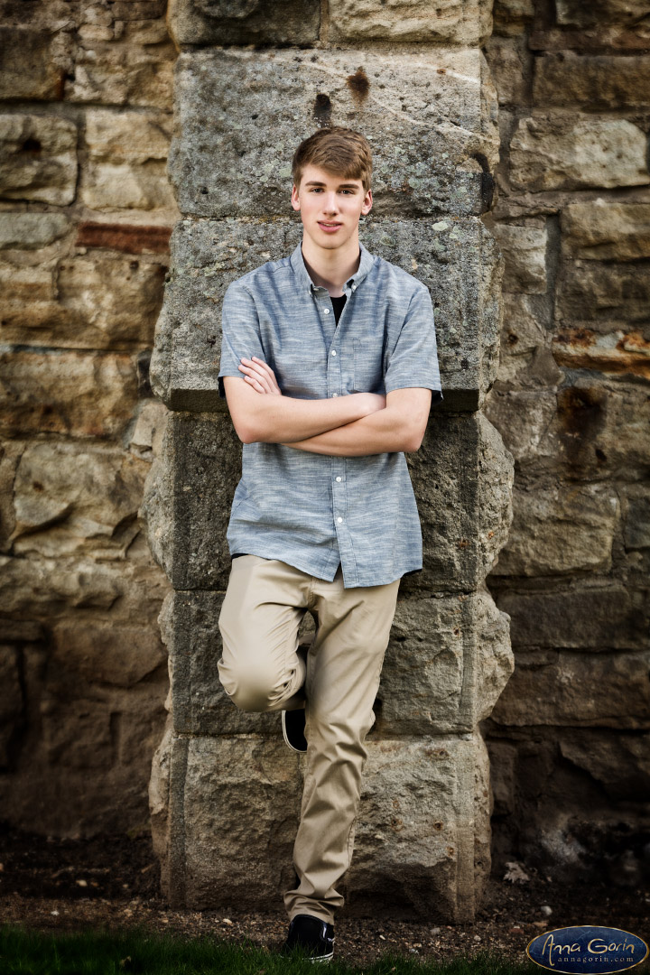 Seniors: Kyle | spring seniors 2017 seniors Senior Portraits Boise Senior Portraits Senior Portrait Senior Pictures Boise Senior Photos portraits photoshoots outdoor portraits old idaho penitentiary male senior portrait male portrait Boise Senior Pictures Boise Senior Photos Boise Senior Photography Boise Senior Photographer  | Anna Gorin Design & Photography, Boise, Idaho