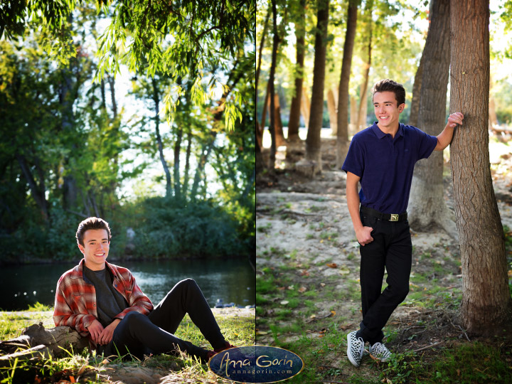 Seniors: Cade | seniors 2018 seniors Senior Portraits Boise Senior Portraits Senior Portrait Senior Pictures Boise Senior Photos portraits portrait photoshoots photography outdoor portraits male portrait fall eagle Boise Senior Pictures Boise Senior Photos Boise Senior Photography Boise Senior Photographer boise river autumn  | Anna Gorin Design & Photography, Boise, Idaho