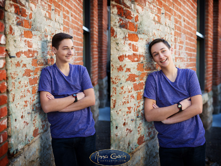 Seniors: Sam | seniors 2018 seniors Senior Portraits Boise Senior Portraits Senior Portrait Senior Pictures Boise Senior Photos portraits photoshoots outdoor portraits male portrait linen district freak alley downtown boise Boise Senior Pictures Boise Senior Photos Boise Senior Photography Boise Senior Photographer  | Anna Gorin Design & Photography, Boise, Idaho