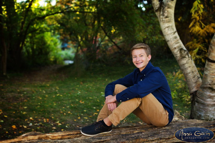 Seniors: Peter | seniors 2018 seniors Senior Portraits Boise Senior Portraits Senior Portrait Senior Pictures Boise Senior Photos portraits photoshoots outdoor portraits male portrait kathryn albertson park fall Boise Senior Pictures Boise Senior Photos Boise Senior Photography Boise Senior Photographer autumn  | Anna Gorin Design & Photography, Boise, Idaho