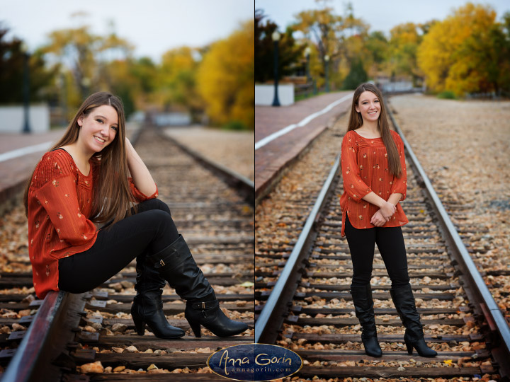 Seniors: Alexa | seniors 2018 seniors Senior Portraits Boise Senior Portraits Senior Portrait Senior Pictures Boise Senior Photos portraits photoshoots outdoor portraits female portrait fall boise train depot Boise Senior Pictures Boise Senior Photos Boise Senior Photography Boise Senior Photographer boise depot autumn  | Anna Gorin Design & Photography, Boise, Idaho