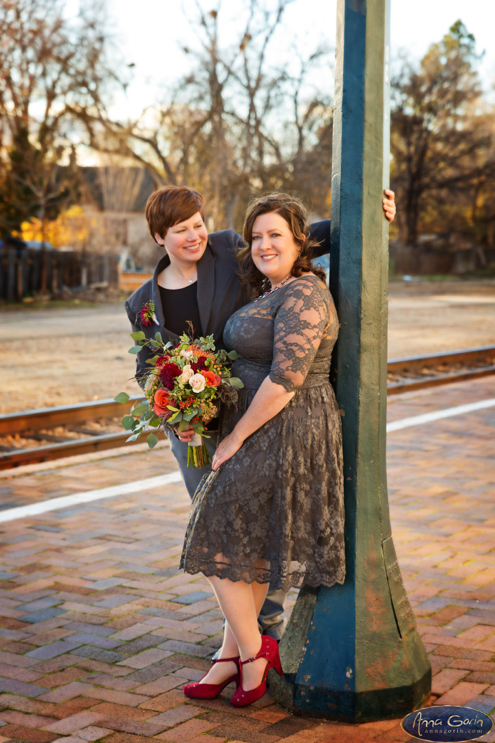 Weddings: Rachael and Victoria | weddings wedding photos wedding photography Wedding Photographers Boise Wedding Photographer Boise romance portraits love Boise Weddings Boise Wedding Photography Boise Wedding Photographers Boise Wedding Photographer boise train depot boise depot  | Anna Gorin Photography, Boise, Idaho