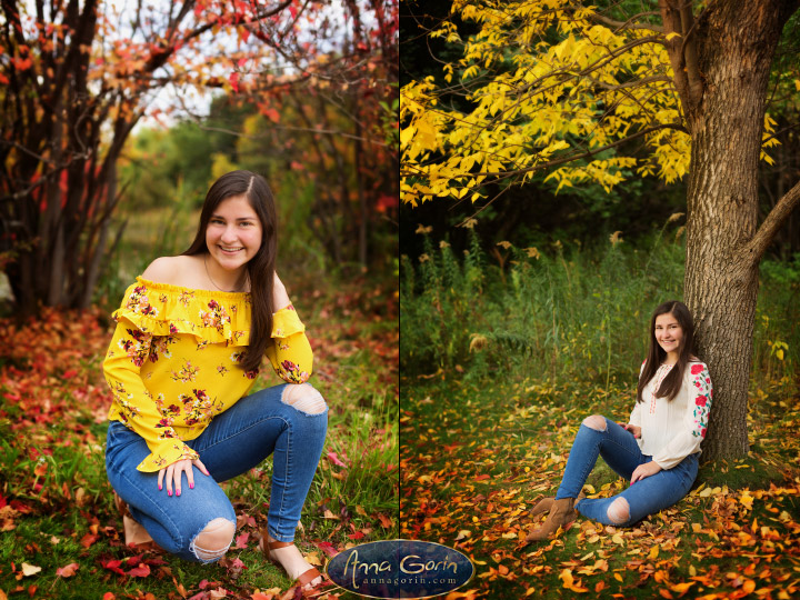 Seniors: Isabel | seniors 2019 seniors Senior Portraits Boise Senior Portraits Senior Portrait Senior Pictures Boise Senior Photos portraits photoshoots outdoor portraits kathryn albertson park female portrait fall Boise Senior Pictures Boise Senior Photos Boise Senior Photography Boise Senior Photographer autumn  | Anna Gorin Photography, Boise, Idaho