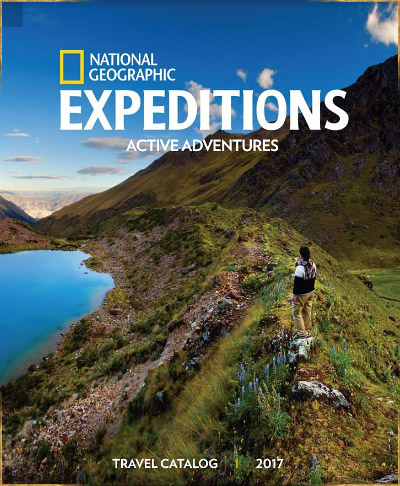 National Geographic Active Adventures catalog cover