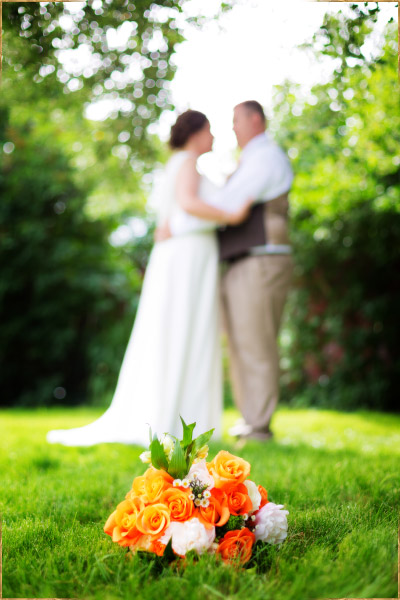 Backyard wedding in Boise, Idaho